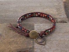 Bohemian Wrap Bracelet  Single Wrap Bracelet  by BohoMoonDesigns, $45.00