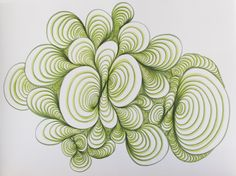My work, ErinSparler.com - Explorations in Visual Rhythm. Turn into repeating patterns?