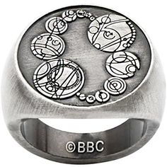 Doctor Who Saxons Master Ring ($8.99) ❤ liked on Polyvore featuring jewelry and rings