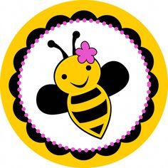 These handmade Bumble Bee Stickers match all of my bee party supplies! They are perfect for sealing invitation envelopes, party favors, drink cups, and goodie bags! Each sticker is inches in size and this listing is for 25 stickers Bumble Bee Invitations, Bumble Bee Birthday, Bee Supplies, Party Supplies, Cute Bee, Bee Happy, Party Items, Queen Bees, Mellow Yellow
