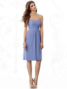 Dessy - After Six Bridesmaids - 6695 - in Periwinkle