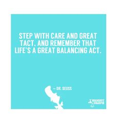 Happy #DrSeuss Day ! Find balance in life & make time for you. #fitness #exercise #weightloss #fitfam #Quotes