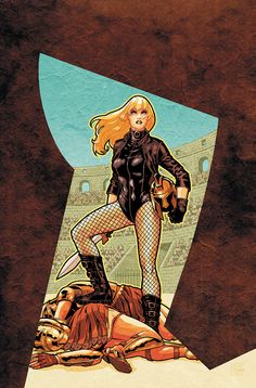 Black canary and green arrow comics