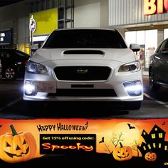 Happy Halloween! To celebrate, we are giving you guys 15% off your next purchase when you use our promo code SPOOKY. Also check out these all new LED Daytime Running Lights for the Subaru WRX/ WRX STi here: http://store.ijdmtoy.com/Subaru-WRX-JDM-LED-DRL-Bezel-p/70-811.htm  #iJDMTOY #LED #Sale #Promo #Deal #Discount #Promotion #Subaru #WRX #STi #SubaruWRX