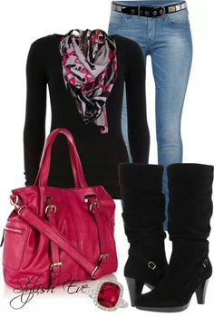 Great fall going out outfit!