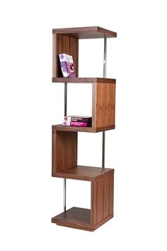 Cobra High Shelf in Walnut / PANGEA/home. Found the non-MDF version! It's only $299... on sale... le sigh. Still pretty to look at! On the computer screen.