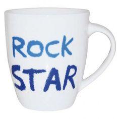 #JamieOliver #Mug #RockStar http://www.palmerstores.com/product/jamie-oliver-cheeky-mug-rock-star/878/