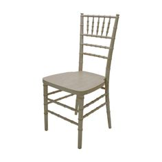 Reception Chair Distressed Whitewash