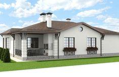 Проект двухэтажного дома 210 м2 - Новация 32 Gazebo, Outdoor Structures, How To Plan, Kiosk, Pavilion, Cabana