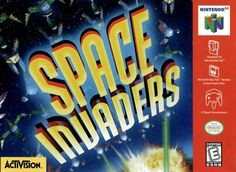 Space Invaders- Nintendo 64 (1999) Space Invaders, Arcade, Sims 4 City Living, Nintendo 64 Games, Dramatic Music, Giant Bomb, Game Data, Battlefield 1, Gaming Tips