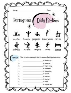 Spanish Body Parts Label Worksheet & Answer Key