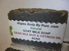HOMEMADE/HANDMADE  Natural/Organic Anti-Acne Dead Sea Mud Goat Milk Soap   Bar  #HopesBodyByPure $ 8.29 FREE SHIPPING