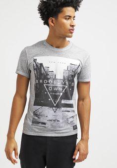 Brooklyn's Own by Rocawear Camiseta print - mottled grey - Zalando.es
