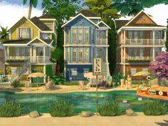 Lot: Found in TSR Category 'Sims 4 Residential Lots' Lotes The Sims 4, Sims Four, Sims Cc, Sims 4 House Plans, Sims 4 House Building, Sims 4 House Design, Casas The Sims 4, Sims 4 Build, Sims 4 Houses
