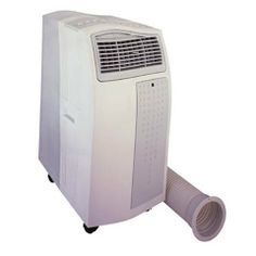 Portable 13,000 BTU Air Conditioner with Heater by SPT. $729.95. Fire resistant PVC plastic housing, 3 fan speeds and digital thermostat control. 13,000 btu cooling and heating power, digital temperature display and remote control is included. Dual activated carbon filter removes odor and extendable exhaust hose up to 5 ft long. Easy grip handle and large casters for easy mobility and dual washable air filter collects dust particles. Built in water tank and extended ...