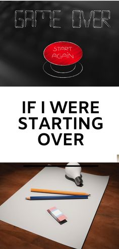 Starting over is both an exciting idea and a little terrifying at the same time. Here's what I would do if I were starting over today. Business Tips, Online Business, Make Money Online, How To Make Money, Because The Internet, Starting Over, Feeling Stuck, Invite Your Friends, 5 Years