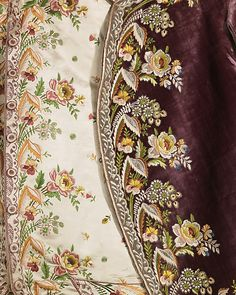 detail of French silk court suit from time of Napoleon, Metropolitan Museum of Art
