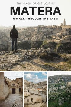 "A walk through the alleys of #Matera, one of the most impressive cities in #Italy and in the world, to discover ""i Sassi"", the ancient neighborhoods."