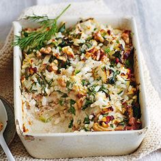 Reisauflauf mit Mangold Rezept | Küchengötter