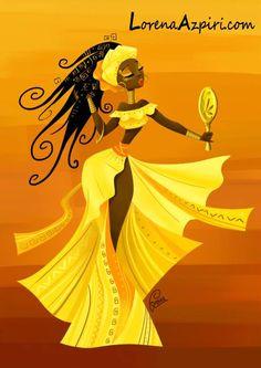Oshun,hija de Lemanja