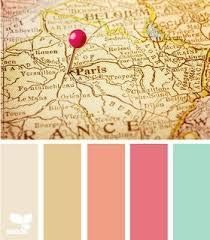 vintage spring colour scheme - Google Search