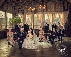 Bridal Party | SODO Park | Seattle, WA | TAustin Photography