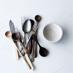 Handcrafted spoons available online now | Sari Jane Home Accents