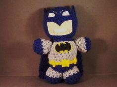 Batman Amigurumi Doll