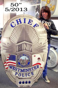 "Westminster PD 53"" Badge"