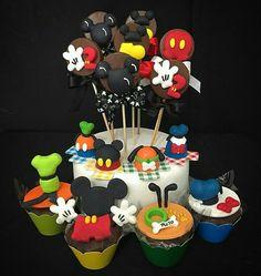 Cupcakes e pirulitos