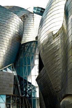 Spain. Museo Guggenheim, Bilbao // Architect: Frank Gehry (1991-1997).