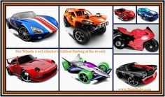 An ideal for Hot Wheels collectors and car enthusiasts. A look-a-like of these amazing 1:64 scale vehicles. All the kids, big or small, would just love to play with them. Collect every model for keeping the assortment on the shelves.  Starting only at Rs. 89/-. Over 100 models available.  Shop at http://slambaby.com/model-toy-and-die-cast-cars/