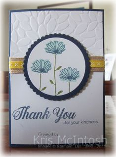 Firstly let me apologise for not posting yesterday. With my catalogue launch only about 8 days away I have been trying to get some samples done to showcase some of the new product from the Flora Flowers, Flowers Garden, Exotic Flowers, Fresh Flowers, Purple Flowers, Wild Flowers, Note Cards, Thank You Cards, Daisy Delight Stampin' Up