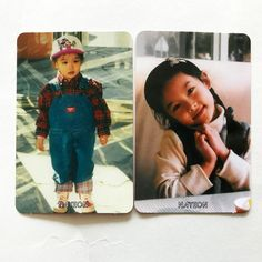 Twice 1st Mini Album The Story Begins Kids Official Photocard Na Yeon Set