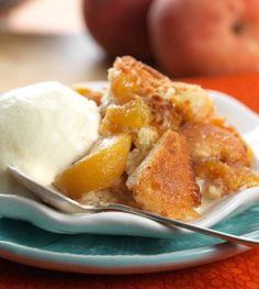 Gluten-Free Peach Cobbler: humble and heavenly: Blog | King Arthur Flour