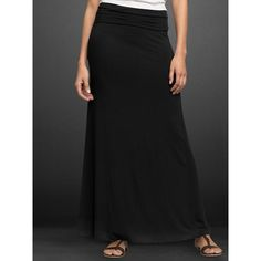 Gap Pure Body Long Skirt. Polyvore had it in black, like the one I have, even though Gap no longer has this color. :)