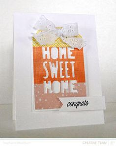 Home Sweet Home- Congrats by StephWashburn at Studio Calico