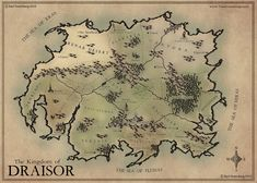 The Kingdom of Draisor 2015 by Traditionalmaps.deviantart.com on @DeviantArt