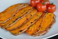 Gegrillte Süßkartoffeln Gegrillte Süßkartoffeln mit Olivenöl-Limetten-Marinade-Gegrillte Süßkartoffeln-GegrillteSuesskartoffeln04