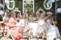 garden party wedding style