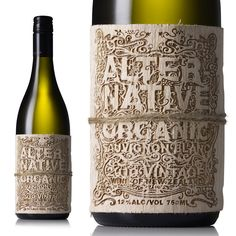 Creative Method - Alternative Organic Sauvignon'Blac | Graphic-ExchanGE - a selection of graphic projects