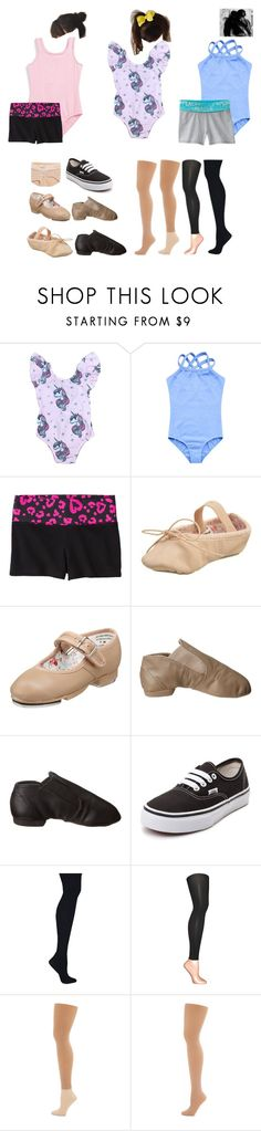 """Olivia Dance -Merlyns"" by crazypolyfams ❤ liked on Polyvore featuring Bloch, Circo, Capezio, Vans, Hanes, Muk Luks and Capezio Dance"