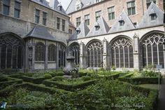 Kloostertuin abdij Middelburg