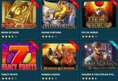 Roman Legion, Eye Of Horus, Online Casino