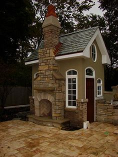 Pool storage shed Design Ideas, Pictures, Remodel and Decor