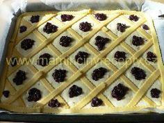 Mřížkový koláč s tvarohem – Maminčiny recepty Waffles, Breakfast, Cake, Food, Essen, Morning Coffee, Kuchen, Waffle, Meals