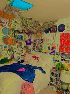 Indie Room Decor, Indie Bedroom, Cute Room Decor, Aesthetic Room Decor, Hipster Room Decor, Aesthetic Indie, Room Ideas Bedroom, Bedroom Decor, Bedroom Inspo