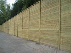 Sound Wall, Fencing, Acoustic, Garage Doors, Gallery, Outdoor Decor, Room, House, Walls