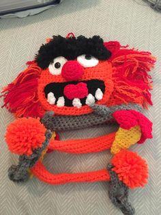 Animal Inspired crochet hat