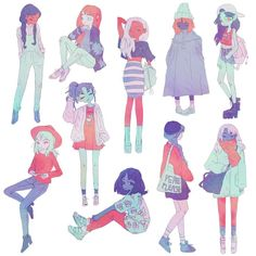 Image result for aesthetic drawing female fashion